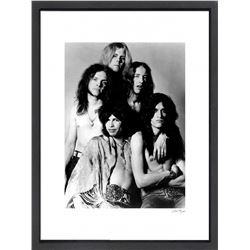 """Aerosmith"" 16x20 Custom Framed Globe Hollywood Photo"