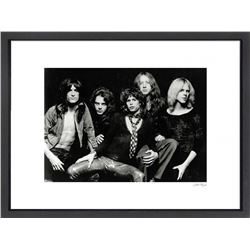 """Aerosmith"" 24x30 Custom Framed Globe Hollywood Photo"