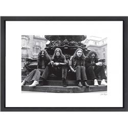 """Black Sabbath"" 24x30 Custom Framed Globe Hollywood Photo"