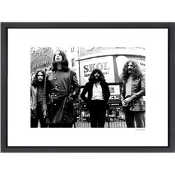 """Black Sabbath"" 16x20 Custom Framed Globe Hollywood Photo"