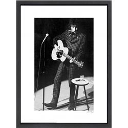 """Bob Dylan"" 16x20 Custom Framed Globe Hollywood Photo"