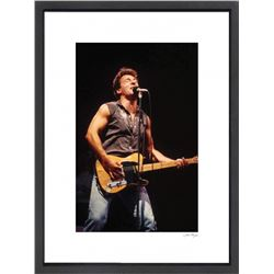 """Bruce Springsteen"" 24x30 Custom Framed Globe Hollywood Photo"