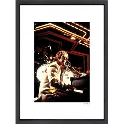 """Elton John"" 16x20 Custom Framed Globe Hollywood Photo"