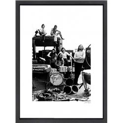 """Pink Floyd"" 16x20 Custom Framed Globe Hollywood Photo"