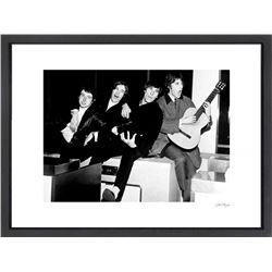 """The Kinks"" 24x30 Custom Framed Globe Hollywood Photo"