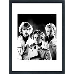 """The Police"" 24x30 Custom Framed Globe Hollywood Photo"
