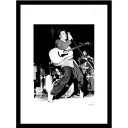 """Elvis Presley"" 24x30 Custom Framed Globe Hollywood Photo"