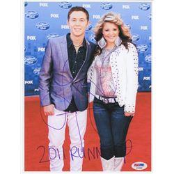 "Lauren Alaina Signed ""American Idol"" 8x10 Photo Inscribed ""2011 Runner Up"" (PSA COA)"