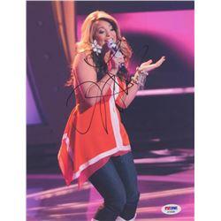 Lauren Alaina Signed 8x10 Photo (PSA COA)