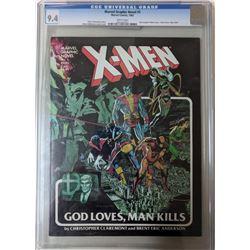 "1982 ""Marvel Graphic Novel"" Issue #5 Marvel Comic Book (CGC 9.4)"