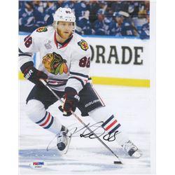 Patrick Kane Signed Blackhawks 8x10 Photo (PSA COA)