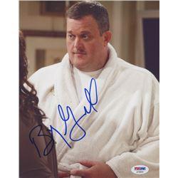 "Billy Gardell Signed ""Mike  Molly"" 8x10 Photo (PSA COA)"