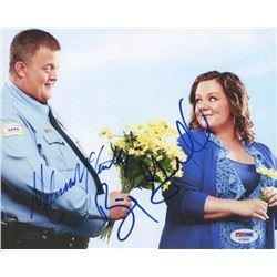 "Melissa McCarthy  Billy Gardell Signed ""Mike  Molly"" 8x10 Photo (PSA COA)"
