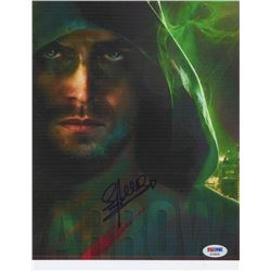 "Stephen Amell Signed ""Arrow"" 8x10 Photo (PSA COA)"