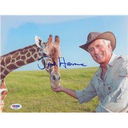 Jack Hanna Signed 8x10 Photo (PSA COA)