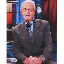 Peter Gammons Signed 8x10 Photo (PSA Hologram)