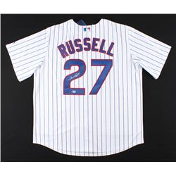 Addison Russell Signed Chicago Cubs Jersey (Beckett COA)