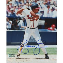 Andruw Jones Signed Atlanta Braves 8x10 Photo (Radtke COA)