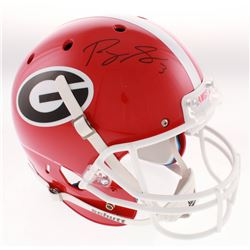 Roquan Smith Signed Georgia Bulldogs Full-Size Helmet (Beckett COA)