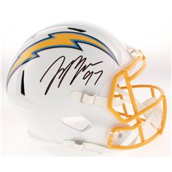 Joey Bosa Signed Los Angeles Chargers Full-Size Speed Helmet (Beckett COA)