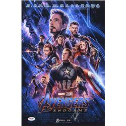 """Bradley Cooper  Tom Holland Signed """"Avengers: Endgame"""" 12x18 Photo (PSA COA)"""