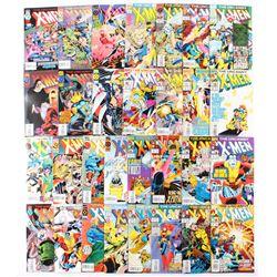 "Lot of (30) 1993-96 ""The Uncanny X-Men"" #301-#330 Marvel Comic Books"