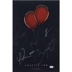 "James McAvoy, Bill Hader  Isaiah Mustafa Signed ""IT Chapter Two"" 12x18 Photo (PSA LOA)"