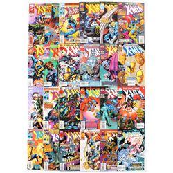 "Lot of (24) 1993-98 ""The Uncanny X-Men"" #331-#354 1st Series Marvel Comic Books"