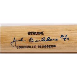 "Jack Brickhouse Signed Louisville Slugger Baseball Bat Inscribed ""HOF '83"" (JSA LOA)"
