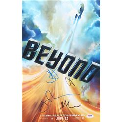 """""""Star Trek Beyond"""" 11x17 Photo Cast-Signed by (5) with J. J. Abrams, Zachary Quinto, Chris Pine, Joh"""