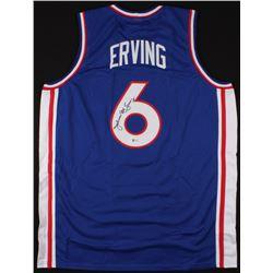 Julius Erving Signed Jersey (Beckett COA)
