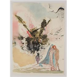 """Salvador Dali LE """"Vol. 2 The Biblia Sacra: Noe Qui Primus Plantavit Vineam 1967 Rizzoli Editions Ita"""