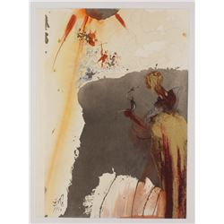 """Salvador Dali LE """"Vol. 2 The Biblia Sacra: De Petra Exivit Aqua 1967 Rizzoli Editions Italy"""" 14x19 L"""