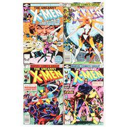 "Lot of (4) 1980-82 ""The Uncanny X-Men""  #133, #136, #146,  #164 1st Series Marvel Comic Books"