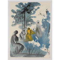 "Salvador Dali LE ""Vol. 2 The Biblia Sacra: Familia Ruth Moabitidis 1967 Rizzoli Editions Italy"" 14x1"
