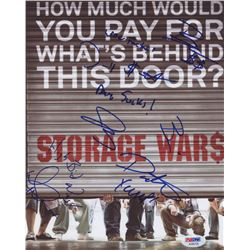 Storage Wars 8x10 Photo Signed by (6) with Dave Hester, Brandi Passante, Darrell Sheets, Jarrod Schu