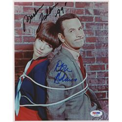 "Don Adams  Barbara Feldon Signed ""Get Smart"" 8x10 Photo Inscribed ""99"" (PSA Hologram)"