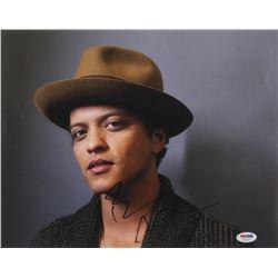Bruno Mars Signed 11x14 Photo (PSA COA)