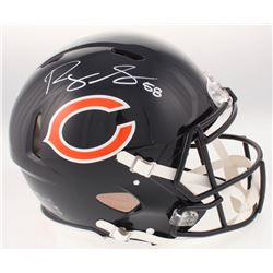 Roquan Smith Signed Chicago Bears Full-Size Authentic On-Field Speed Helmet (Beckett COA)