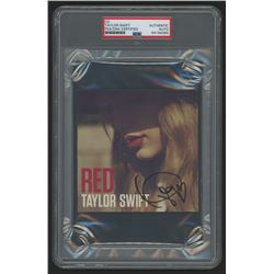 """Taylor Swift Signed """"Red"""" CD Booklet (PSA Encapsulated)"""