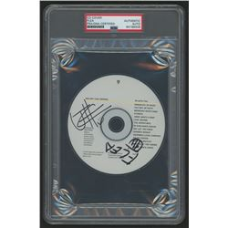 """Flea  Josh Klinghoffer Signed Red Hot Chili Peppers """"I'm With You"""" CD (PSA Encapsulated)"""