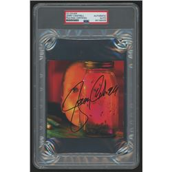 """Jerry Cantrell Signed Alice in Chains """"Jar of Flies"""" CD Cover (PSA Encapsulated)"""