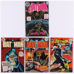 "Lot of (4) 1970 ""Batman"" DC Comic Books with #226, #237, #244  #245"