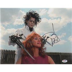 "Johnny Depp Signed ""Edward Scissorhands"" 11x14 Photo (PSA COA)"