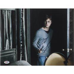 "Daniel Radcliffe Signed ""Harry Potter  the Deathly Hallows: Part 1"" 11x14 Photo (PSA COA)"