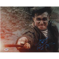 "Daniel Radcliffe Signed ""Harry Potter  the Deathly Hallows: Part 2"" 11x14 Photo (PSA COA)"
