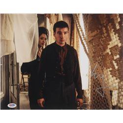 "Ezra Miller Signed ""Fantastic Beasts: The Crimes of Grindelwaldi"" 11x14 Photo (PSA Hologram)"