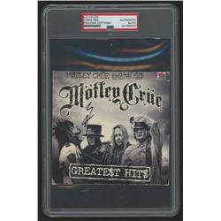 "Vince Neil Signed Motley Crue ""Greatest Hits"" CD Cover (PSA Encapsulated  JSA Hologram)"