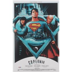 """Richard Donner Signed """"Superman"""" 11x17 Print (PSA Hologram)"""