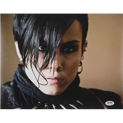 """Noomi Rapace Signed """"The Girl with the Dragon Tattoo"""" 11x14 Photo (PSA COA)"""